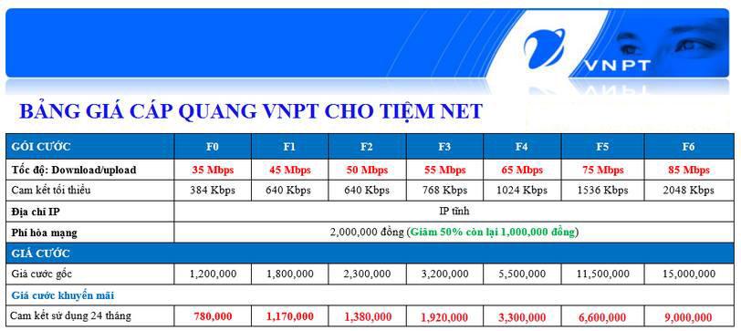 fiber public VNPT