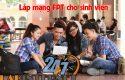 lắp mạng fpt cho sinh viên